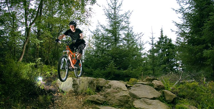 Mountain Biking in Dalby Forest