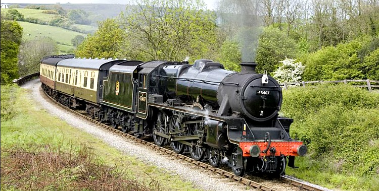North Yorkshire Moors Railway in Pickeirng