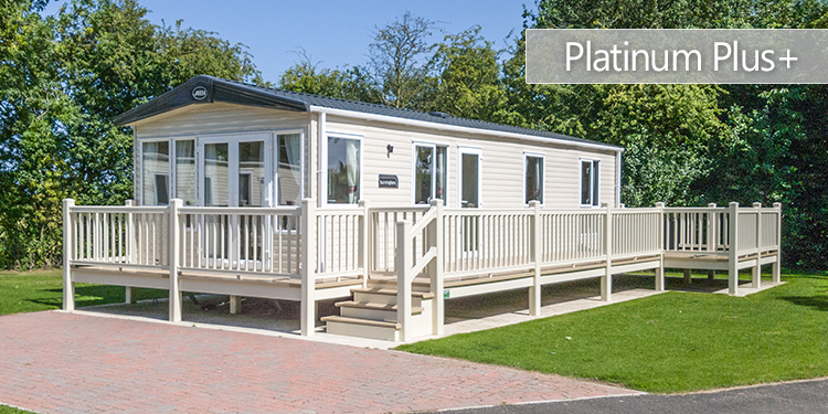 Platinum Plus Holiday Home| Decking
