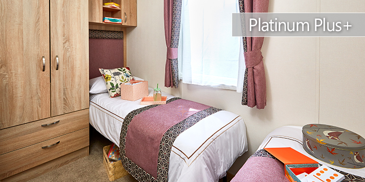 Platinum Plus Holiday Home| Twin Bedroom