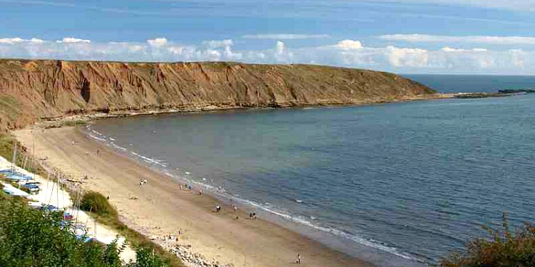 Filey Beach and Brigg