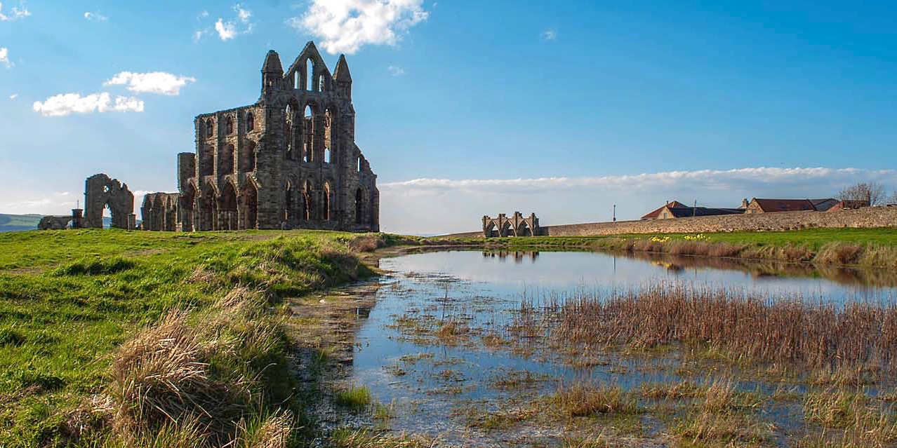 Whitby Abbey - inspiration for Dracula