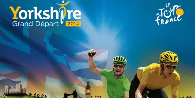 Tour de France coming to Yorkshire in 2014